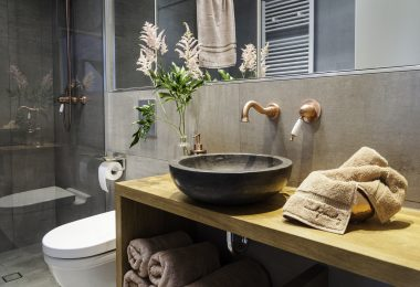 Badezimmer Berliner Dachgeschoss | by andy - for better moods