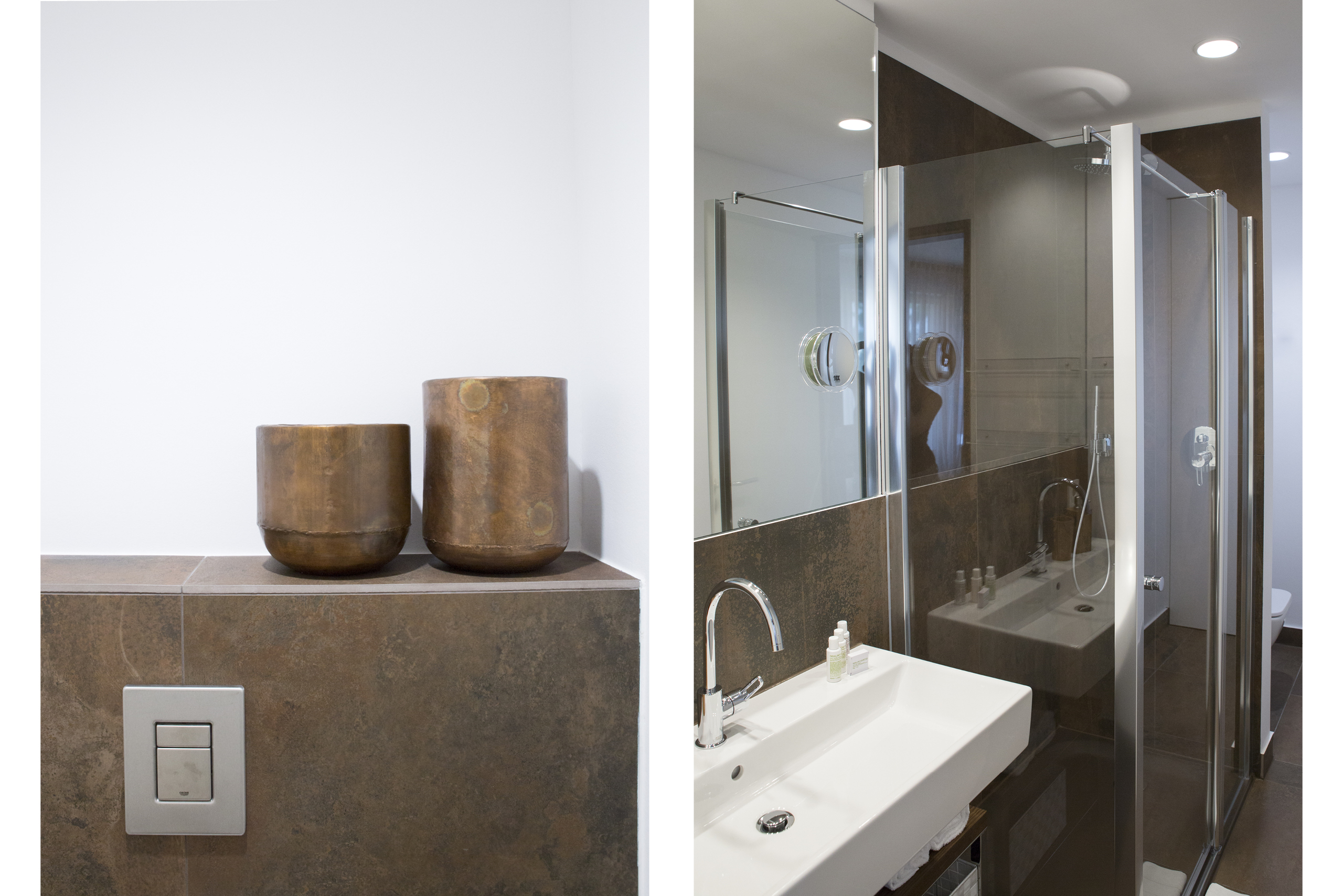 Badezimmer Interims-Wohnung  by andy - for better moods