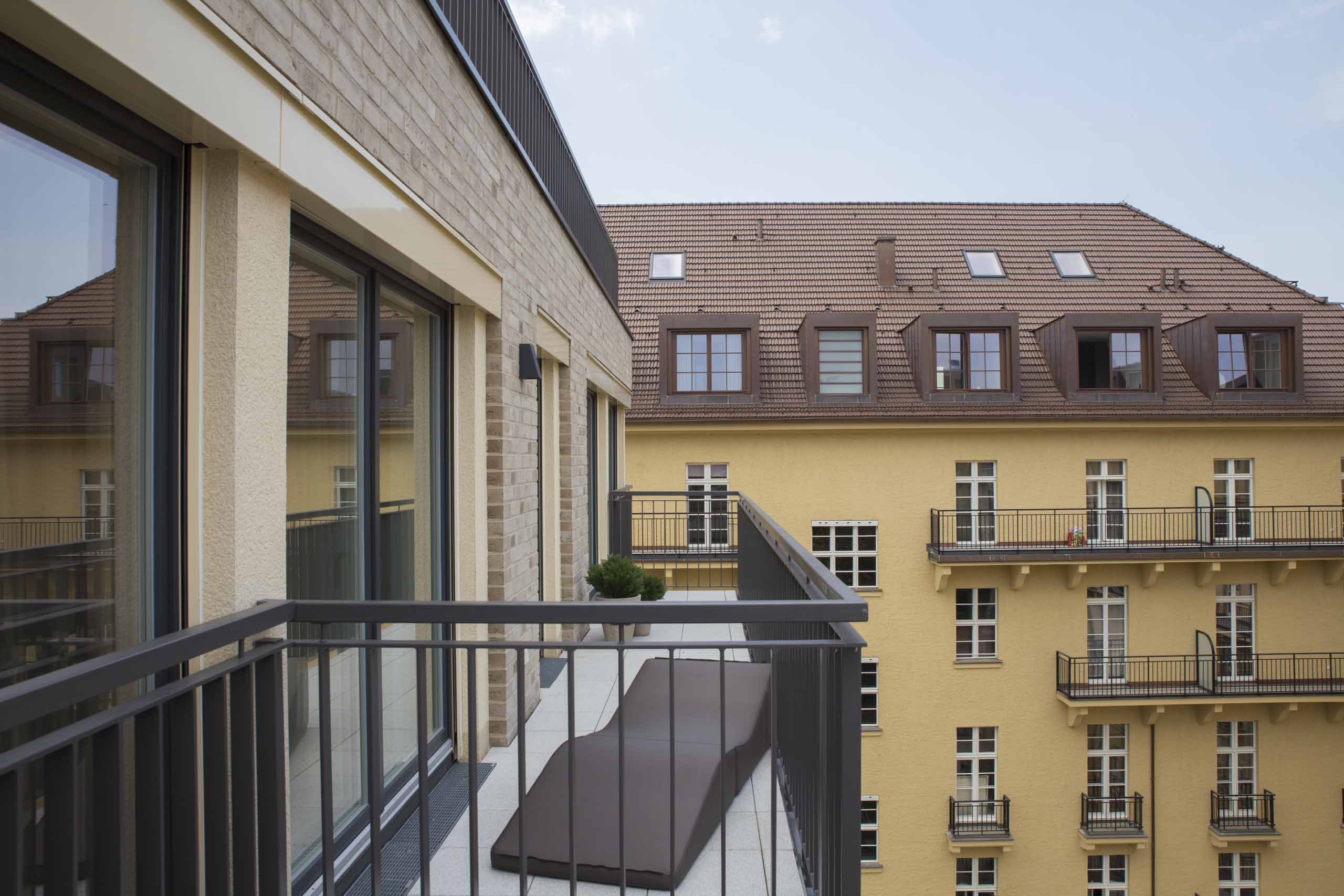 Terrasse Interims-Wohnung | by andy - for better moods