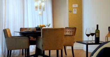 Essbereich der Interims-Wohnung | by andy for better moods
