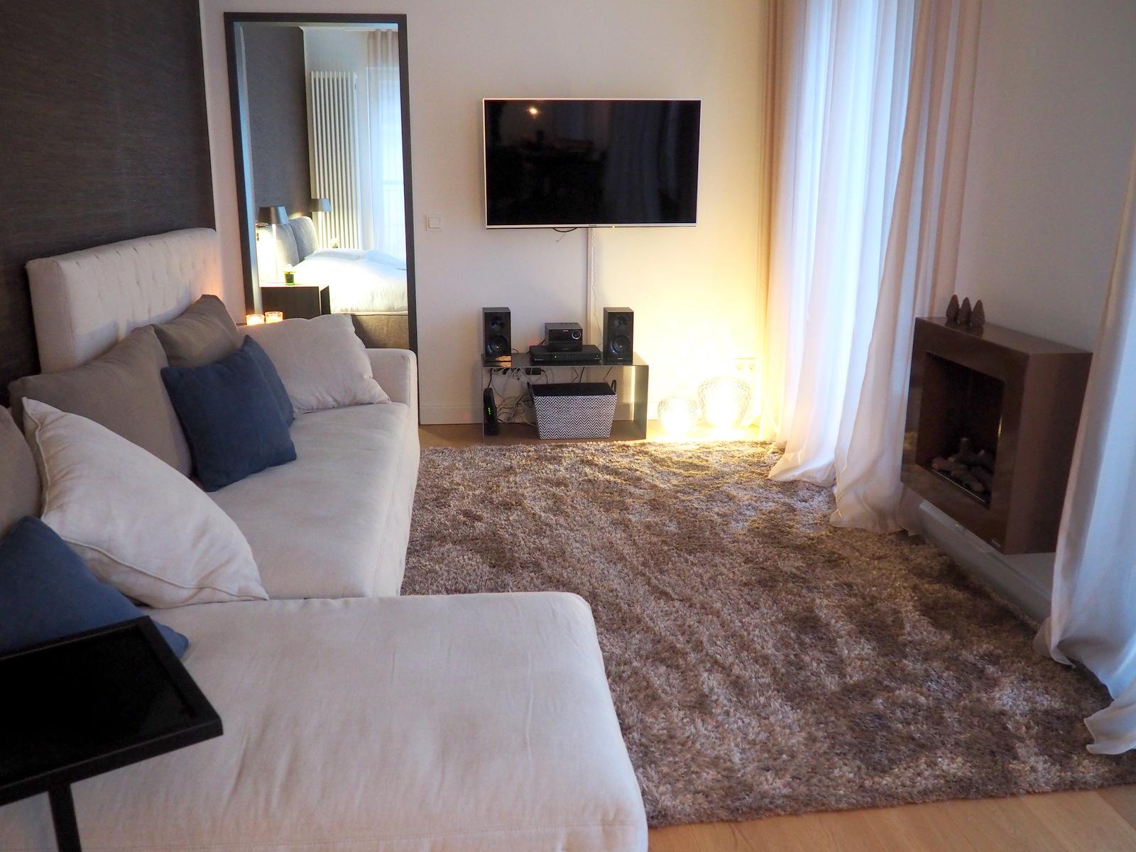 Das Offene Wohnzimmer In Der Interims Wohnung | By Andy   For Better Moods