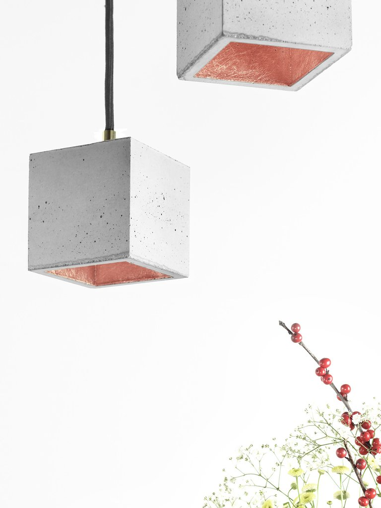 GANTlights Betonlampe B6 rosé | by andy - for better moods