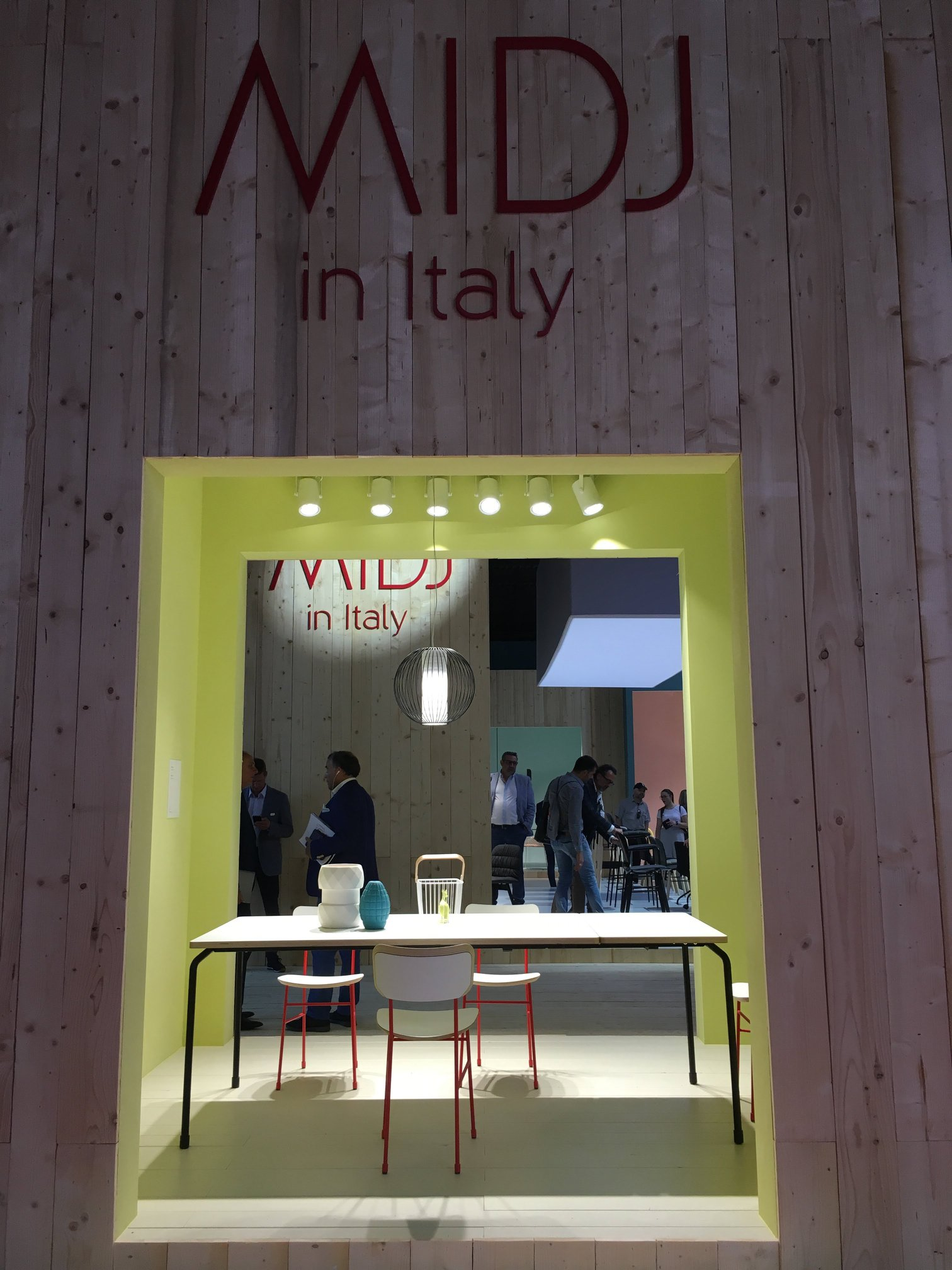 Midj in Italy | Salone del Mobile 2018 | by andy - for better moods