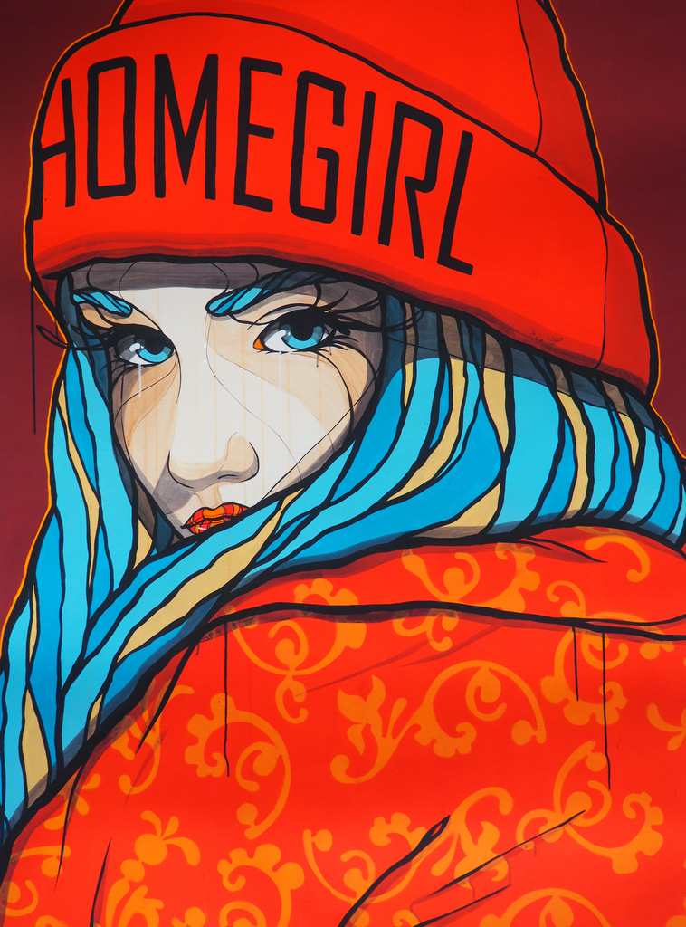 Homegirl Art by El Bocho | by andy - for better moods
