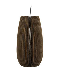 Lamellenlampe Zylinder Karton Dôme Deco | by andy - for better moods