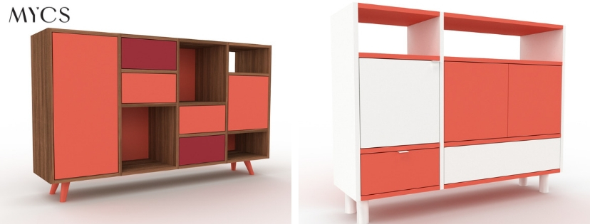 Regelsystem GRYD in Living Coral by MYCS | by Andy - for better moods | Trend Living Coral