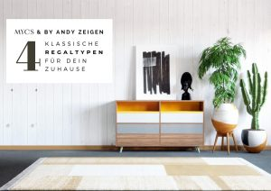 Vier Regaltypen mit MYCS  by andy - for better moods
