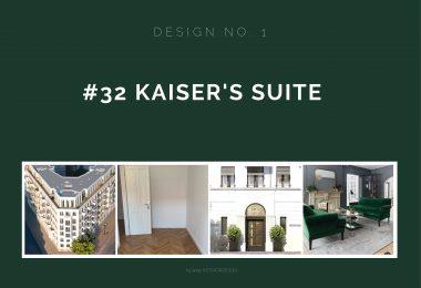 Der erste Entwurf für Kaiser's Suite