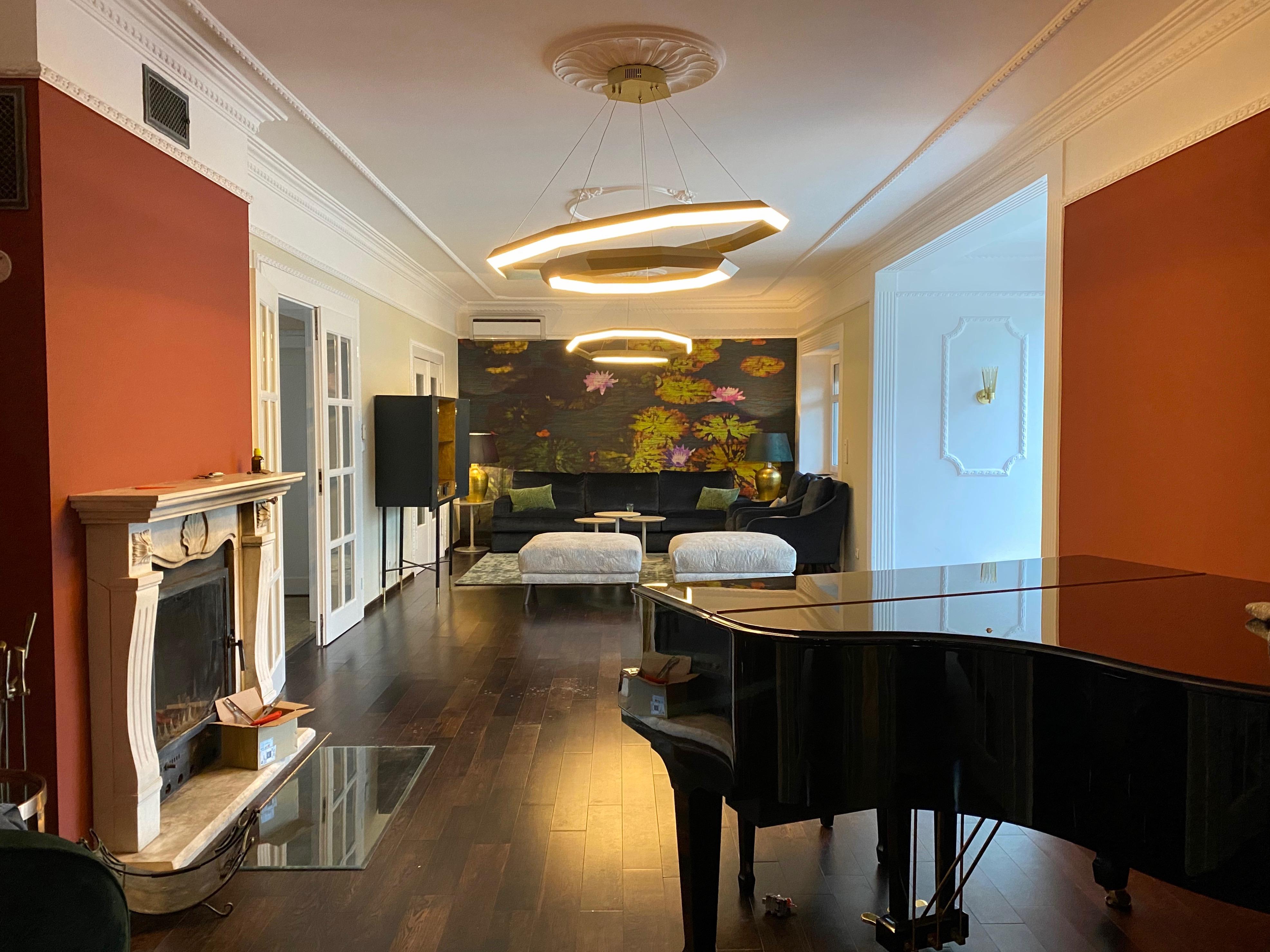 Wohnzimmer Villa Kladow | by andy INTERIORDESIGN