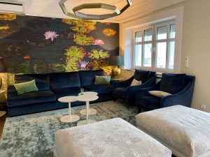Wohnzimmer Villa Kladow   by andy INTERIORDESIGN