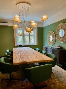 Esszimmer Villa Kladow   by andy INTERIORDESIGN